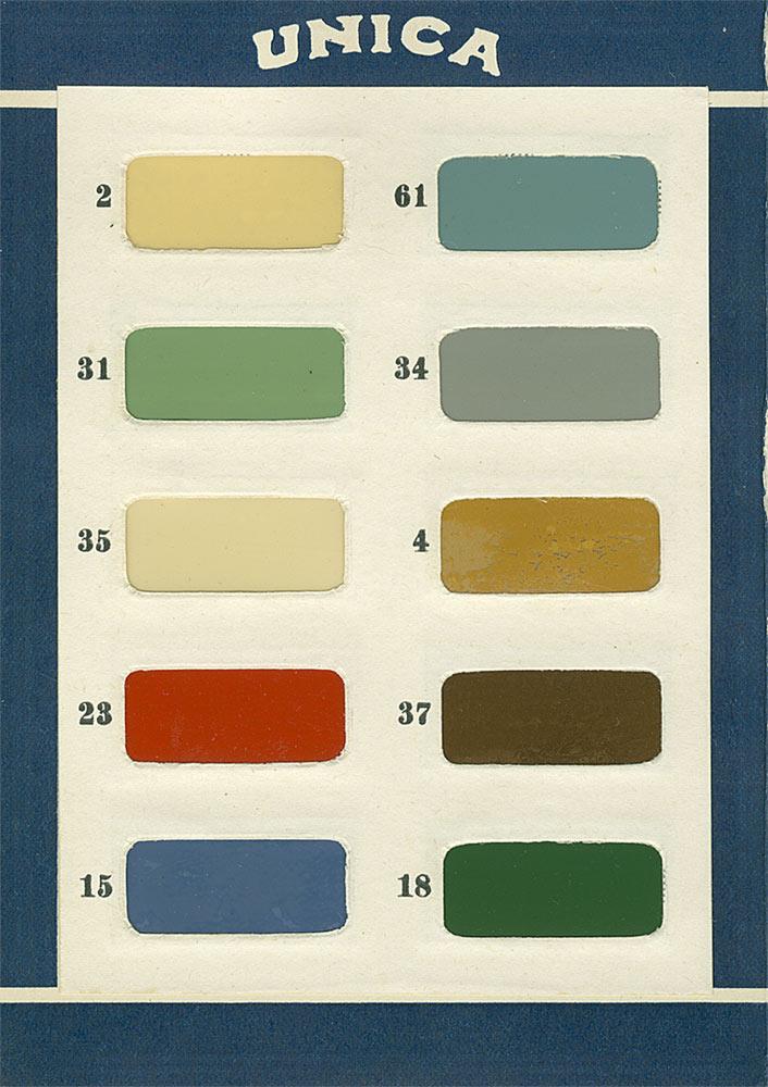 50Luvun värikartta